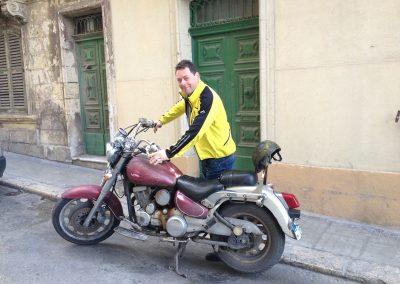 Motorrad für die Malta Fahrschule