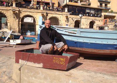 keine Panik auf der Titanic auf Malta